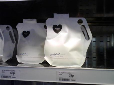 Organic Milk Bag
